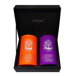 GREEN TEAS - 2 teas gift set Iskandar® & Green Marco Polo®