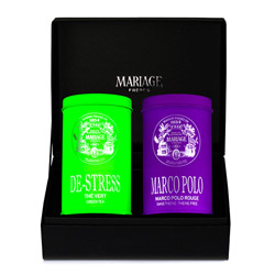 ZEN & ZEN  - 2 teas gift set - green & rooibos De-Stress Tea® & Red Marco Polo®
