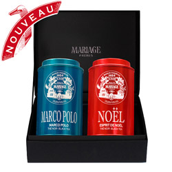 MARCO POLO & NOËL®  - 2 black teas gift set
