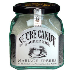 CANDY SUGAR - 300 g glass jar