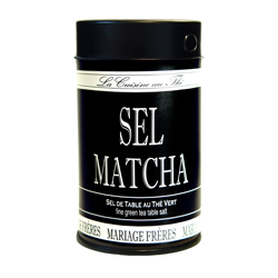 SEL MATCHA® - Tea & cuisine salt & green tea powder