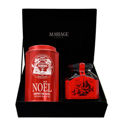 CONNAISSEUR - Black tea & jelly gift set Noël®