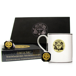 TEA BREAK - Black tea & mug gift set Noël®