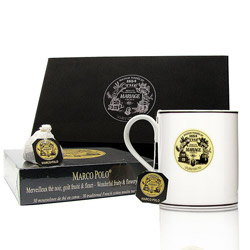 TEA BREAK - Black tea & mug gift set Marco Polo®