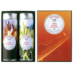 VOYAGE - 2 teas gift set - black & green Paris - Saïgon - Shanghai®