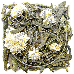 THÉ CÉLADON™ - Green tea for breakfast chrysanthemum flowers