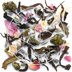 PARIS-LONDON® - Daytime black & white tea blend flowery