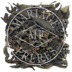 MAHÉ™ - Evening black, green & Blue tea™ blend peach & apricot