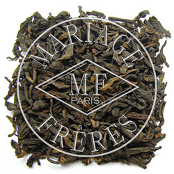 EARL GREY PU-ERH - Matured tea with bergamot scent China - Jardin Premier*
