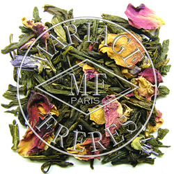 SWEET SHANGHAÏ® - Soft fruity & flowery - Jardin Premier* fragrant green tea