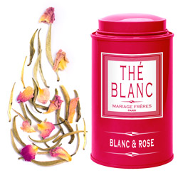 BLANC & ROSE - Scented white tea Jardin Premier*