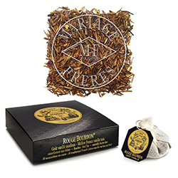 ROUGE BOURBON®  - Red tea Rooibos - Jardin Premier* mellow French vanilla taste