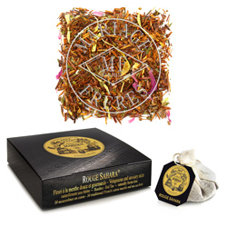 ROUGE SAHARA® - Red tea Rooibos - Jardin Premier*  mint & rose