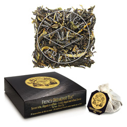 FRENCH BREAKFAST TEA® - Black tea for breakfast elegant & refined full bodied blend