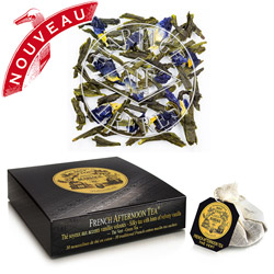 FRENCH AFTERNOON TEA® - Green tea - Jardin Premier* with smooth vanilla accents