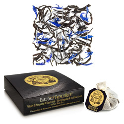 EARL GREY FRENCH BLUE® - Thé noir soyeux,  bergamote & bleuet royal