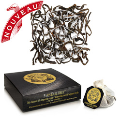 PARIS EARL GREY® - Jardin Premier*  - Shimmering black tea  with bergamot royale