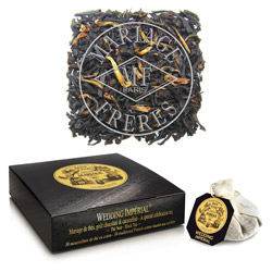 WEDDING IMPÉRIAL® - A special celebration black tea - Jardin Premier* chocolate & caramel notes