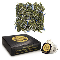 BOUDDHA BLEU® - Velvety green tea ripe fruits fragrance & blue flowers