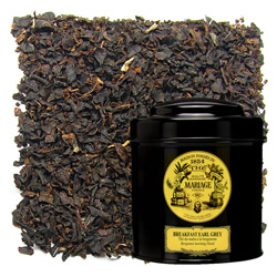 BREAKFAST EARL GREY - Black tea for breakfast bergamot flavoured morning blend