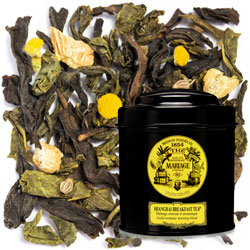 SHANGHAÏ BREAKFAST TEA® - Blue tea™  for breakfast joyful aromatic morning blend