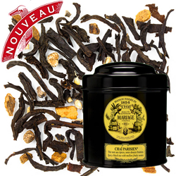 CHAÏ PARISIEN - Black tea - Jardin Premier* fruits and spices