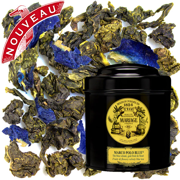 MARCO POLO BLUE® - Fruity & flowery - Jardin Premier* velvety Blue Tea™