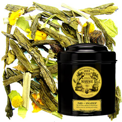 PARIS-SINGAPOUR® - Mellow green tea refreshing & soothing
