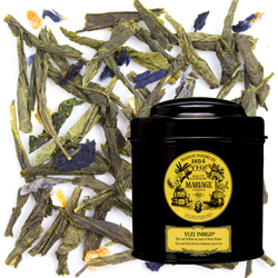 YUZU INDIGO® - Yuzu and blue flowers - Jardin Premier* luminous green tea