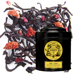 PARIS-GINZA® - Black tea with notes of red fruits & caramel