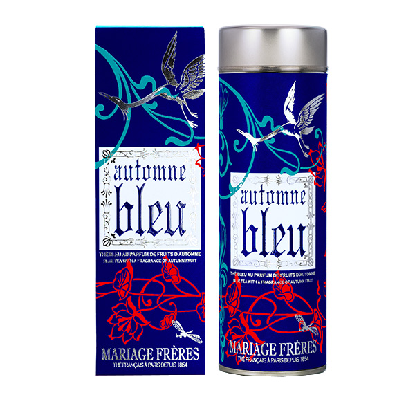 AUTOMNE BLEU® - Blue Tea™ pomegranate, litchi, quince & blue flowers
