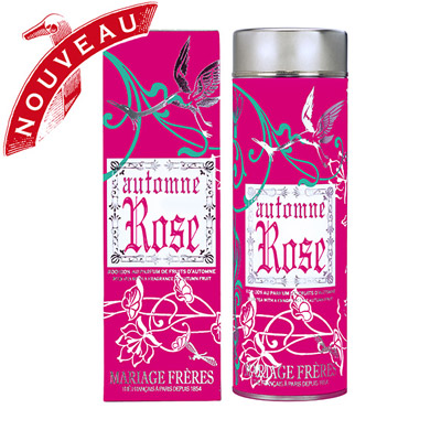 AUTOMNE ROSE - Flavoured Rooibos - Jardin Premier* pomegranate, lychee, quince