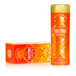 CHRISTMAS ORANGE® - Gourmet black tea luscious notes of candied orange