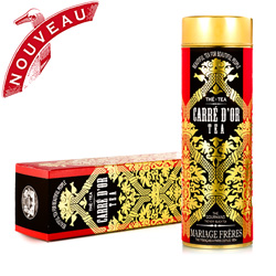 CARRÉ D'OR® - Black tea notes of chocolate, caramel & red fruits