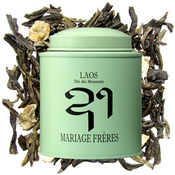 LAOS - Thé des Moussons® - Green tea smoky & flowery