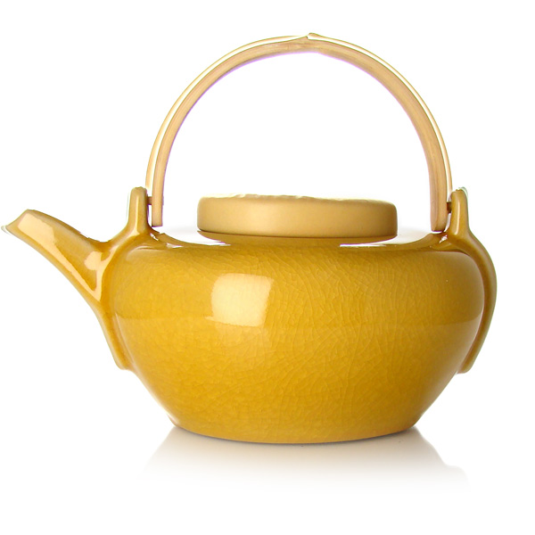Aventurier teapot : stoneware teapot red, turquoise blue, purple, green, gold and silver