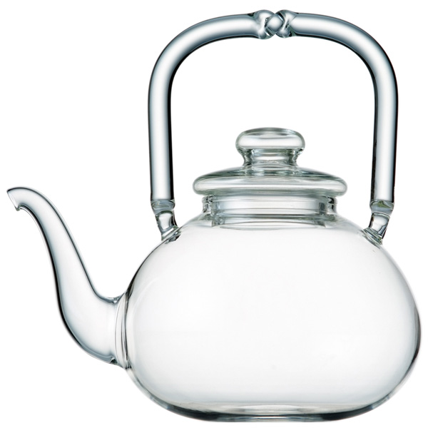 A1921 - SPICE CLUB Hand blown glass teapot
