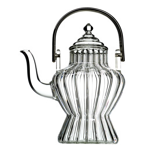 A19409 - BHOUTHAN  Hand blown glass teapot