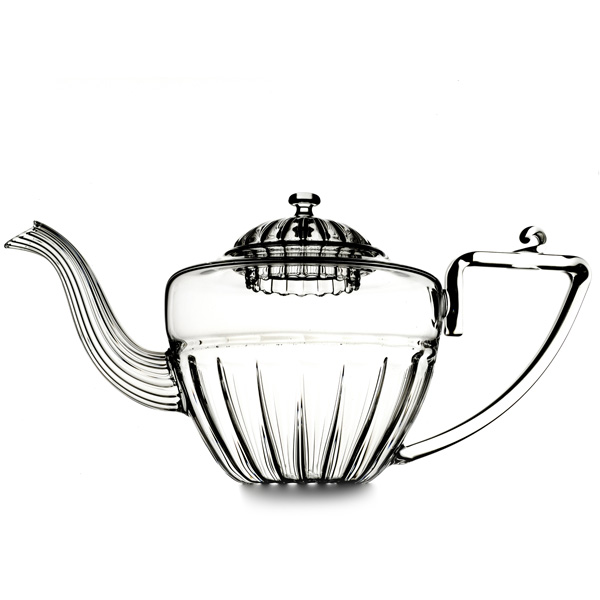 A19412 - HAPPY DREAM  Hand blown glass teapot