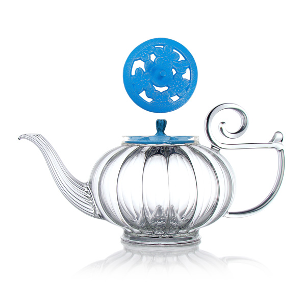 A19445 - MY BEAUTIFUL TEAPOT Hand blown glass teapot
