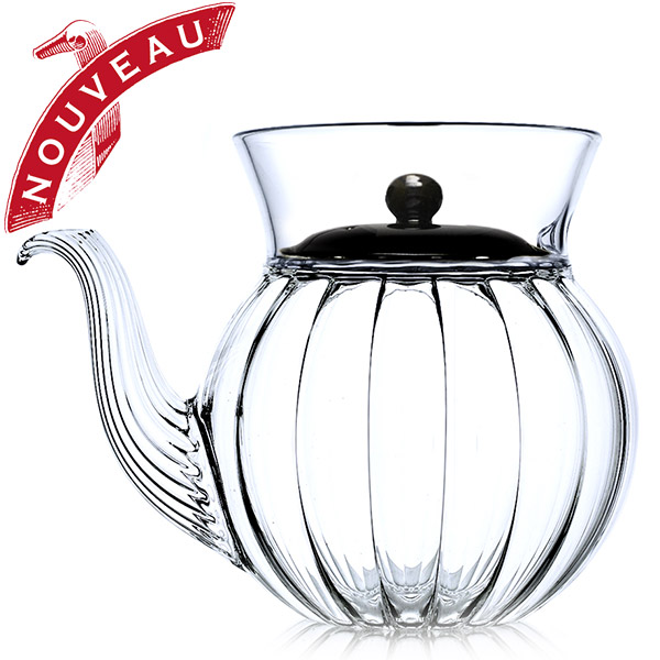 A19473 - FRENCH TEA CLUB Hand blown glass teapot