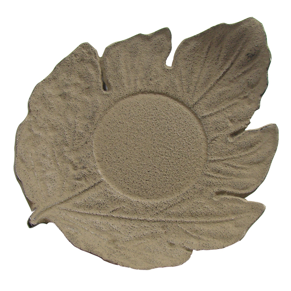 A8307 - LEAF shaped saucer Cast-iron