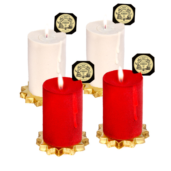 E2869VAE - CHRISTMAS PARTY® Candle-cakes for Christmas