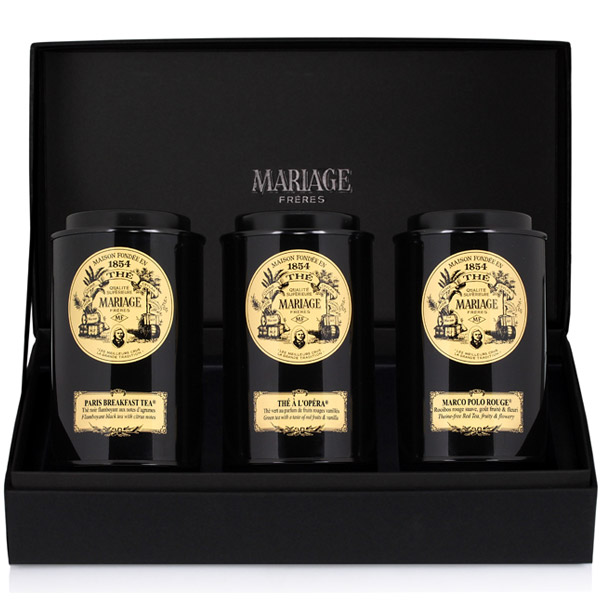 E311A - FRENCH TEA TIME™ 3 teas gift set