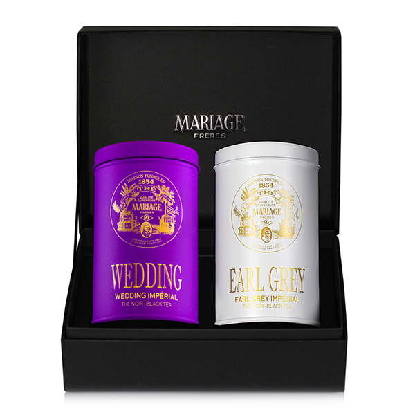 E420 - IMPÉRIAL  2 black teas gift set