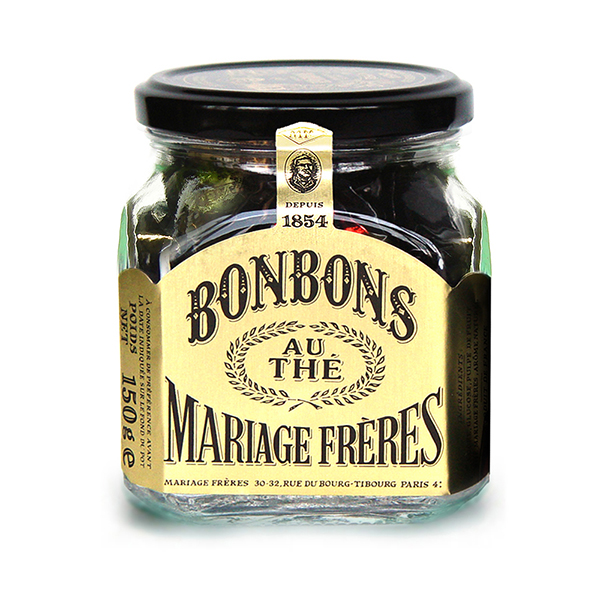 E52 - TEA BONBONS 150 g glass jar