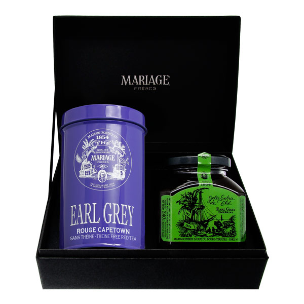 E9169 - CONNAISSEUR Black tea & jelly gift set