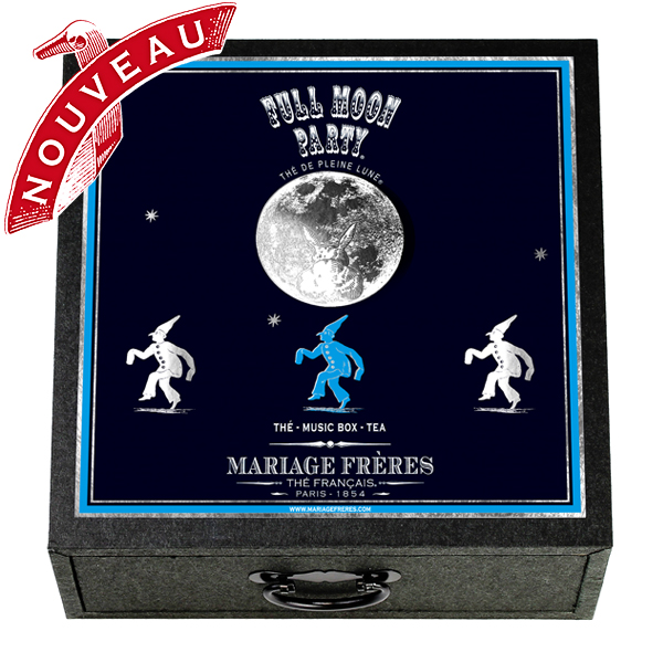 E98318 - FULL MOON PARTY Music box - 4 teas