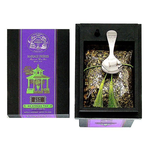 E98327 - ZEN BOX® - De-Stress Tea® Music box - green tea