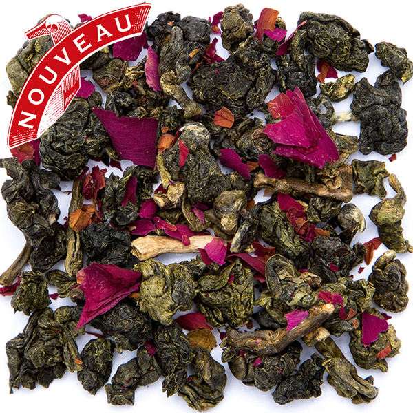 T4629 - ROSE DE SIAM Blue tea from Thailand